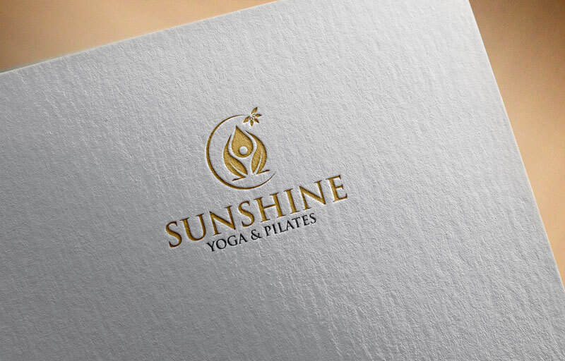 Pilates Logo Sunshine Yoga and Pilates
