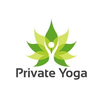 Private Yoga Logo Design