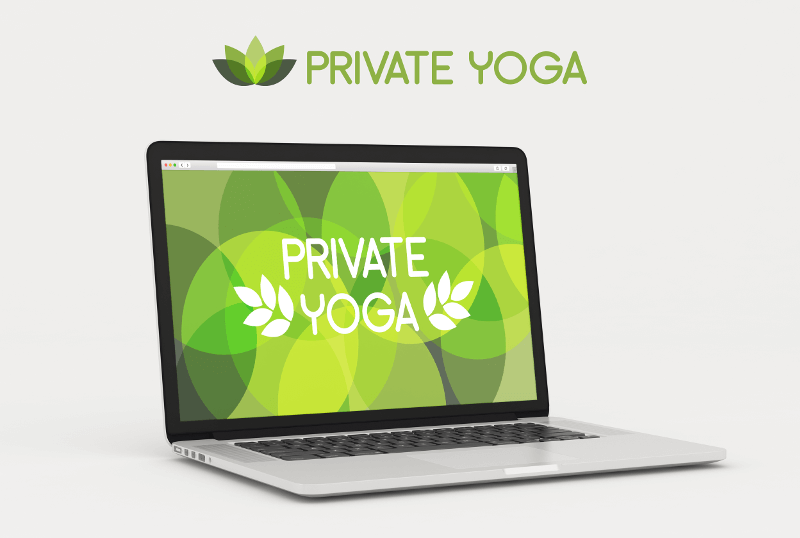 Private Yoga Logo Design