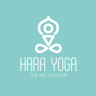 Yoga Logo Design Lotussitz Hara Yoga