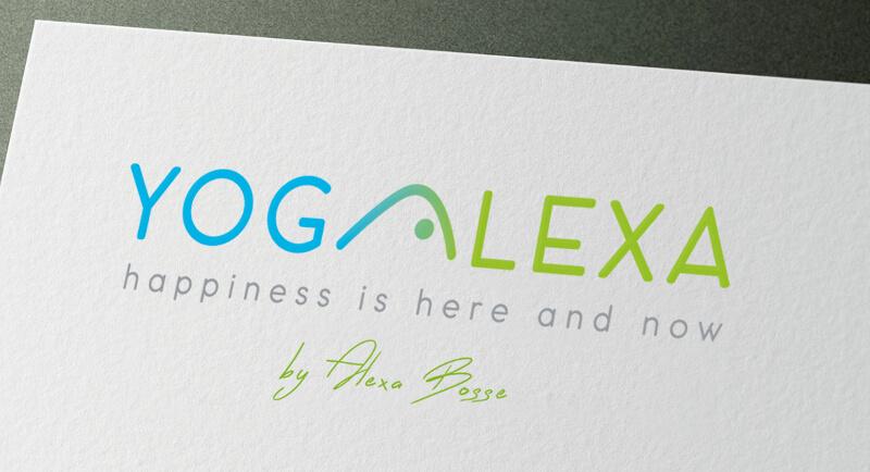 Yoga Logo Design Yogalexa