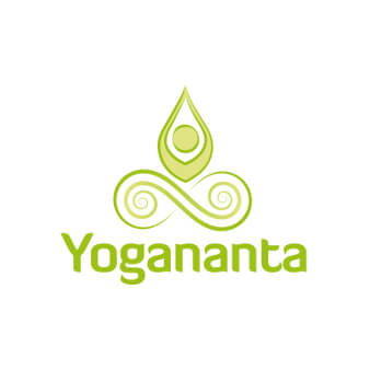 Yoga Logo Design Yogananta