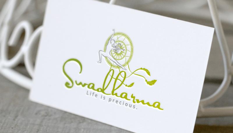 Yoga Logo Swadharma