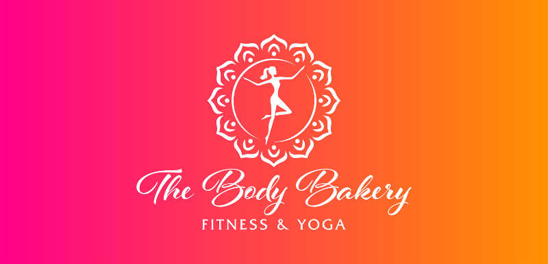 Yoga Logo The Body Bakery Fitness und Yoga