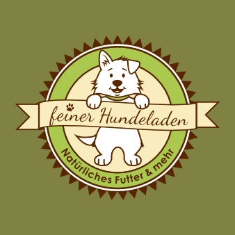hunde logo design hundeladen maskottchen
