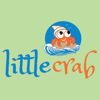 meer logo fische design krabbe wasser