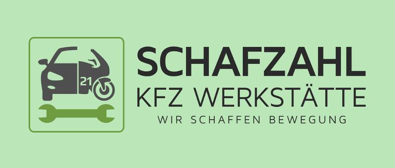 Corporate Design KFZ Werkstätte Auto Motorrad Logo-Design Schafzahl