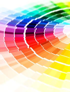 Farbe Plakat Design