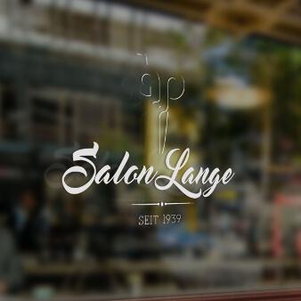 Friseur Logo Salon Lange 618626