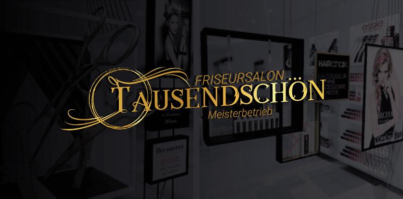 Friseursalon Tausendschön Friseur Logo 178422