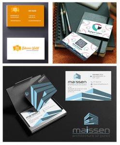 Inspiration Visitenkarten Design