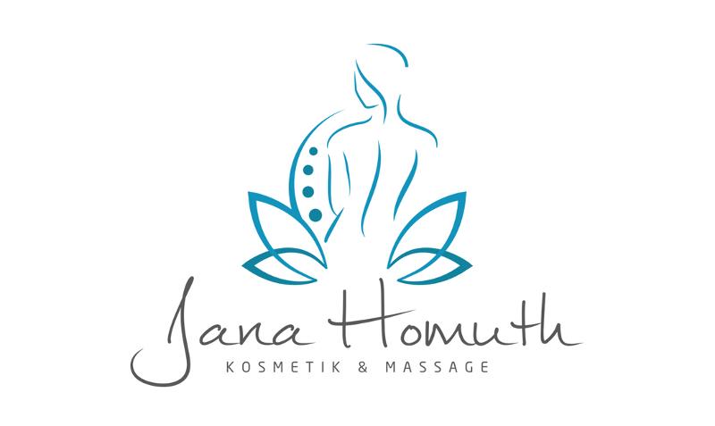 Kosmetikstudio Logo Jana Homuth Kosmetik und Massage 723349