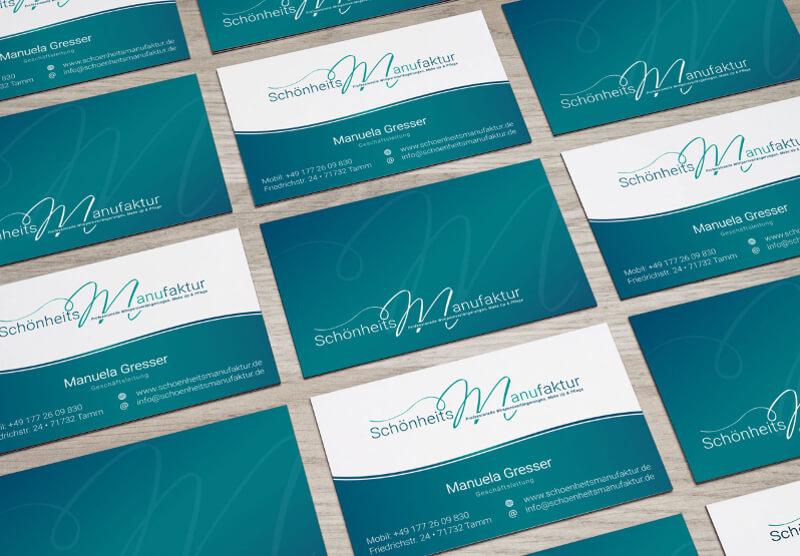 Kosmetikstudio Logo Schönheitsmanufaktur 445912