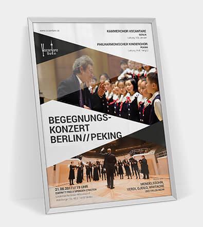 Plakat Design Tipps Konzert