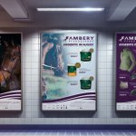 Plakat Design erstellen Ambery