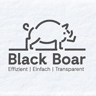 black boar it beratung logo