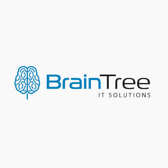 braintree solutions it logo design
