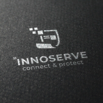 innoserve it logo design