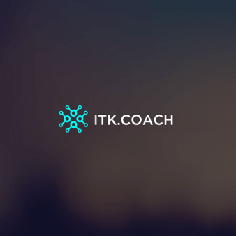 itk.coach it logo design