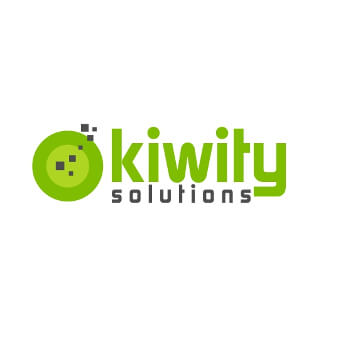 kiwity solutions it logo design