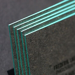 Druckveredelung Visitenkarten Veredelung Farb Folienschnitt