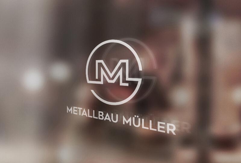 Initialen Logo Metallbau Müller 945825