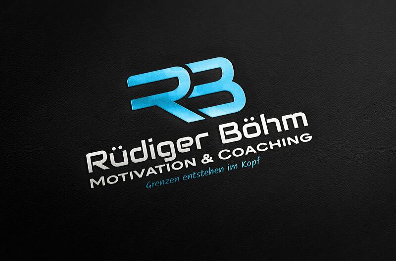 Initialen Logo Rüdiger Böhm Motivation Coaching 823759