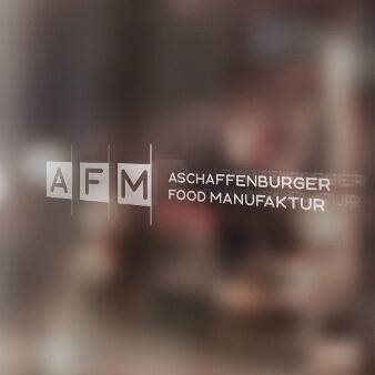 Logo Initialen Aschaffenburger Food Manufaktur 794452