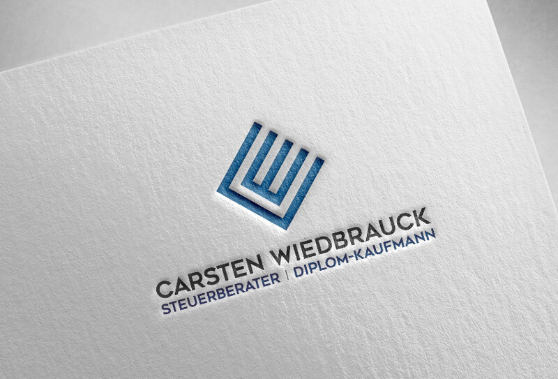 Logo Initialen Carsten Wiedbrauck Steuerberater 423332
