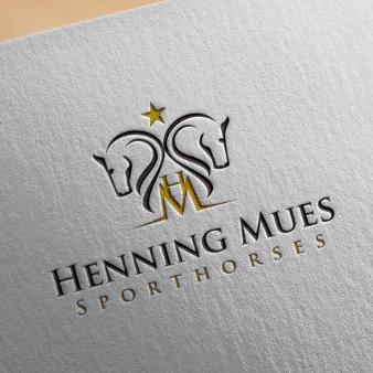 Logo Initialen Henning Mues 997387