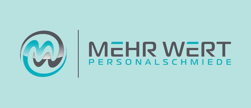 Logo Initialen Mehr Wert Personalschmiede 431685