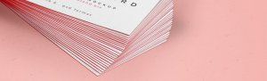 Visitenkarten Veredelung – mit diesen Arten der Druckveredelung lässt Du Deine Visitenkarte erstrahlen