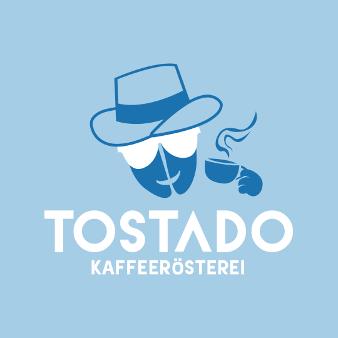 Blaues Logo Kaffeerösterei Tostado 999128
