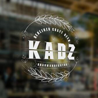 Braumanufaktur Logo Design KADZ