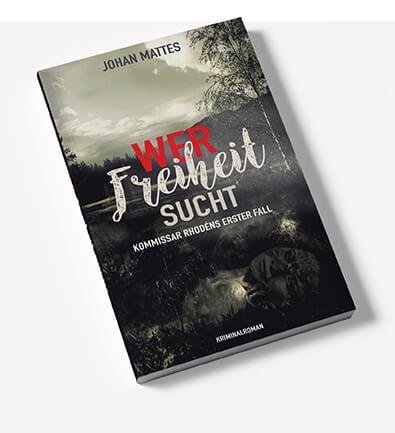 Buchcover Design Kriminalroman