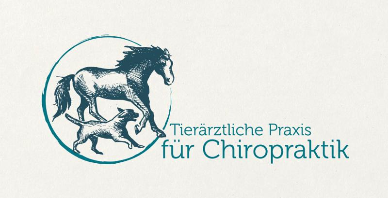 Chiropraktiker Logo Design Tiere Praxis