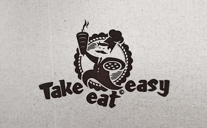 Dönerladen Logo Fast Food Take Easy Eat 629896