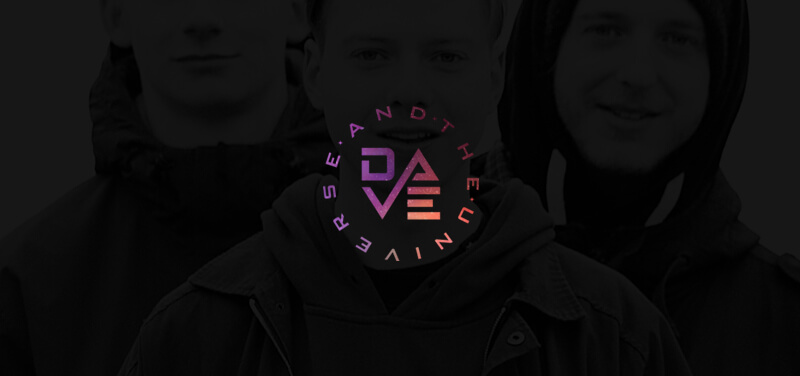 Dance Band Logo Dave and the Universe
