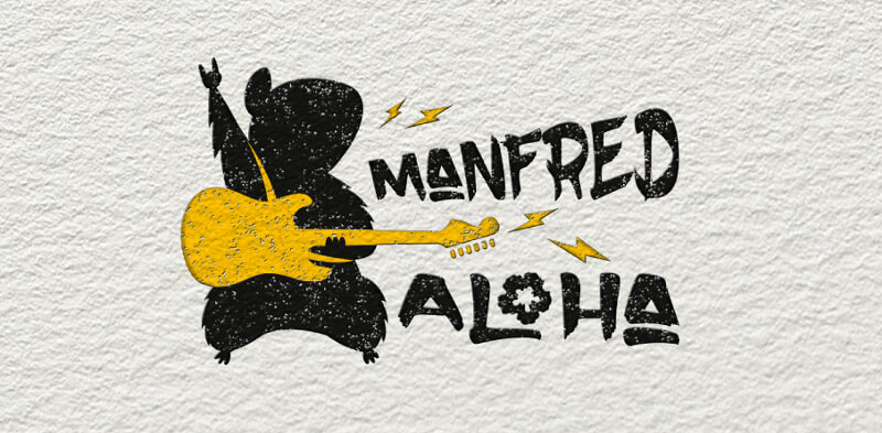 Dance Logo Band Manfred Aloha