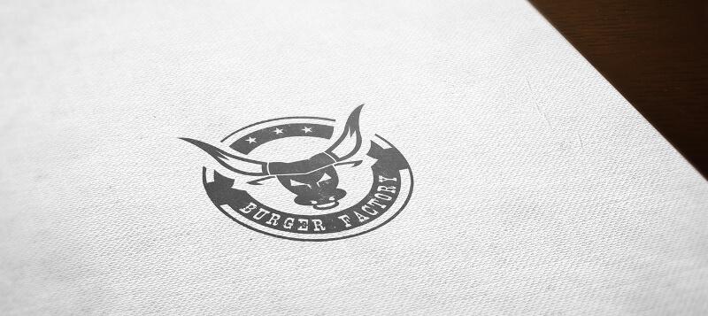 Foodtruck Logo Burger Factory 176785