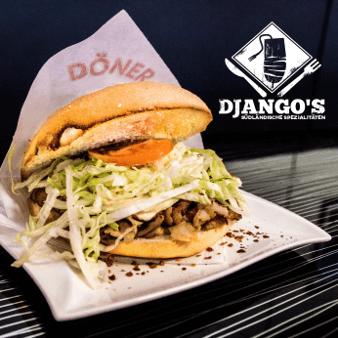 Fast Food Logo Dönerladen Djangos 986856