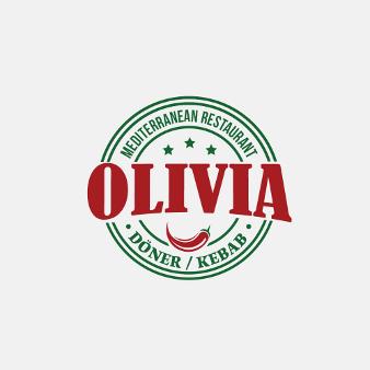 Fast Food Logo Dönerladen Olivia 986856