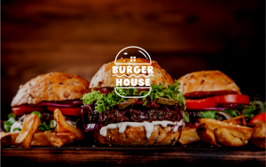 Fast Food Logo Design Burger House 852861
