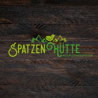 Fast Food Logo Design Imbiss Spatzen Hütte 392391