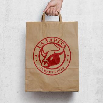 Logo Design Streetfood La Tapita 339183