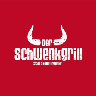 Fast Food Logo Imbiss der Schwenkgrill 232847