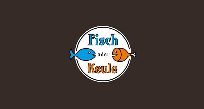 Fast Food Logos Imbiss Fisch oder Keule 515619