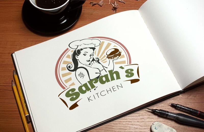 Fast Food Logos Imbiss Sarahs Kitchen 469226