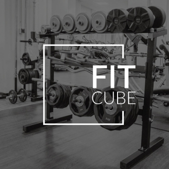 Fit Cube Fitness Logo 826752