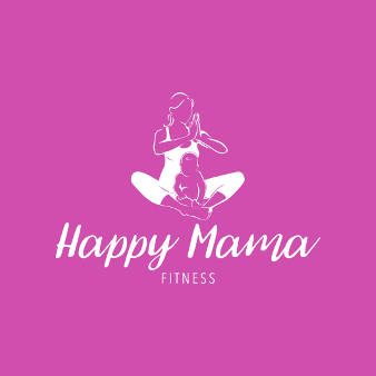 Fitness Logo Happy Mama 386371